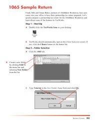 1065 Sample Return - Taxworks.com