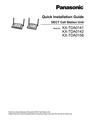 Kx ns300 installation Manual pdf Template