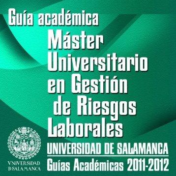 Asignaturas (Guía Académica) - Universidad de Salamanca