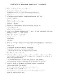 Grundbegriffe der Mathematik, WS 2011/2012, 1. ¨Ubungsblatt