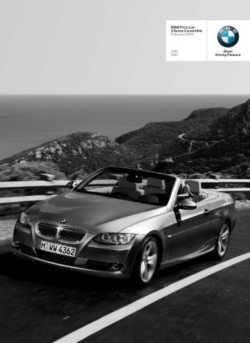 BMW Price List 3 Series Convertible February ... - BMW South Africa