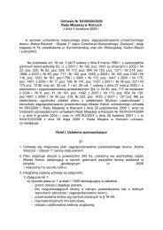Uchwała Nr XXVII/626/2008 Rady Miejskiej w Kielcach z dnia 4 ...