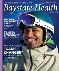 Winter 2013 - Baystate Health