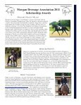 April 2012 Newsletter - Morgan Dressage Association - Page 3