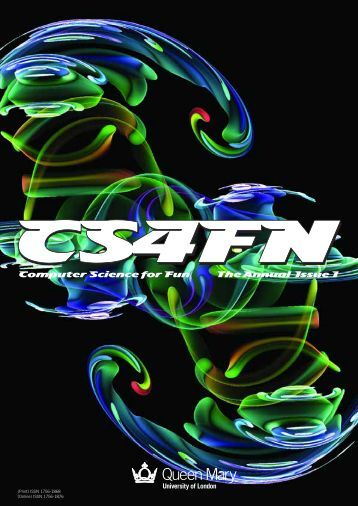 Computer Science for Fun The Annual Issue 1 - cs4fn