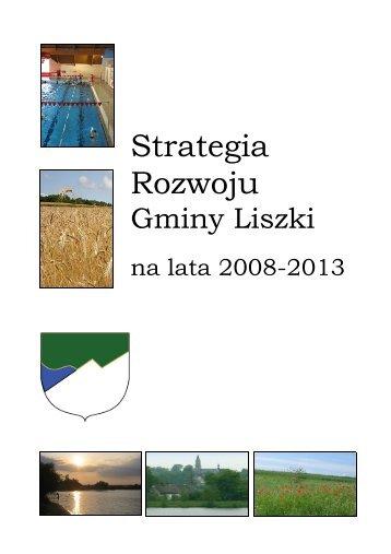 Strategia Rozwoju Gminy Liszki na lata 2008 - 2013