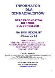 Informator 1 - Powiat pszczyński - Pszczyna