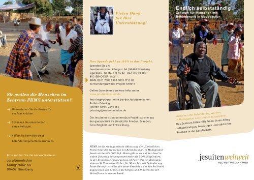 Flyer - Jesuitenmission