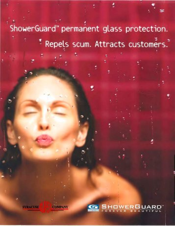 Guardian Shower Guard Brochure - syracuse glass company
