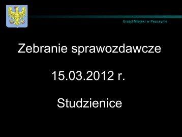 17. Sołectwo Studzienice - Pszczyna