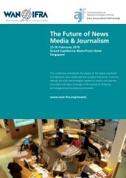 The Future of News Media & Journalism - Singapore Press Club