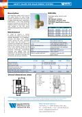 Safety valves for Solar energy systems Series SVE ... - Watts Industries - Page 2