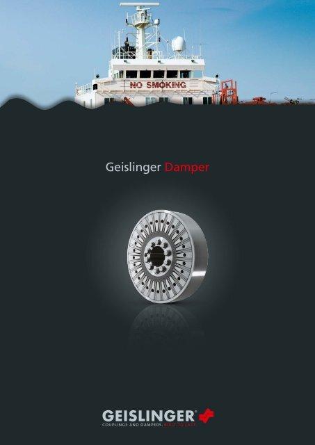 Damper catalog - Geislinger