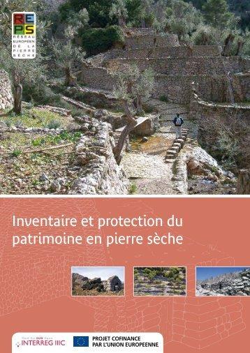 Inventaire et protection du patrimoine en pierre sèche