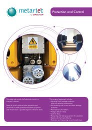 Protection and Control - Metartec
