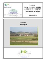 étude d'aménagement foncier agricole et forestier - Haute-Marne