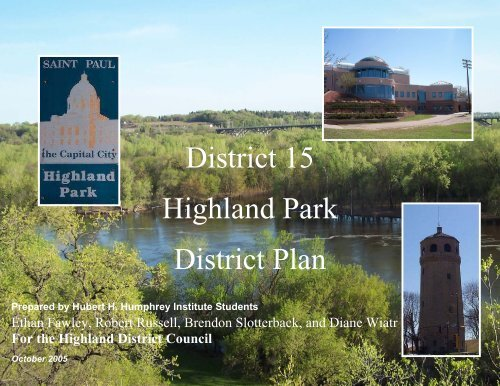 District 15 Highland Park District Plan - Highland District