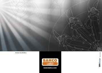 Bahco Broschüre (PDF) - Hortima