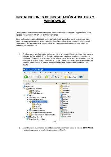 Descargar Adsl en Windows Xp - Mundo Manuales