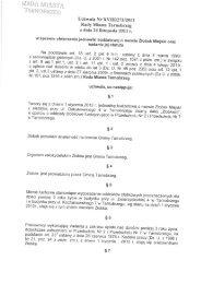 Uchwała Nr XVIII/2720011 Rady Miasta Tarnobrzeg z dnia 24 ...
