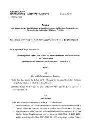 Hamburgisches Gesetz zum Schutz vor den Gefahren des ...