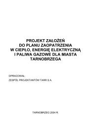 projekt założeń do planu zaopatrzenia w ciepło, energię elektryczną ...