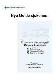 Nye Molde sjukehus - St. Olavs Hospital