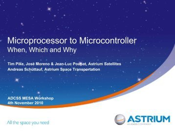 Microprocessor to Microcontroller When, Which and Why