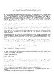 Europäische Menschenrechtskonvention (EMRK)