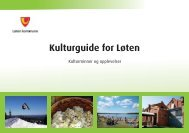 Kulturguide for Løten - Løten kommune
