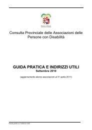 GUIDA PRATICA E INDIRIZZI UTILI Settembre 2010 ...