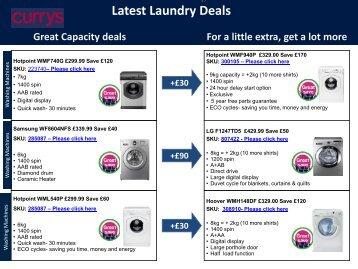 Latest Laundry Deals - E-Merchant