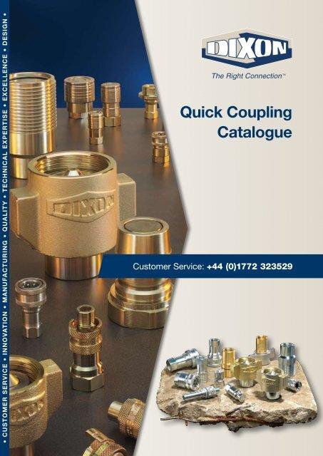1//4 Coupler x 1//4-18 NPT Female Thread Dixon Valve 2CJF2-B Brass European High-Flow Interchange Pneumatic Fitting Socket