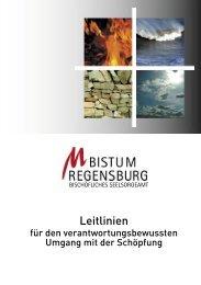 Schöpfungsleitlinien - Arbeitsstelle Weltkirche