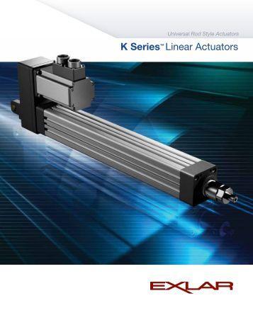 K Series™ Linear Actuators - IGAS
