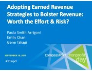 Adopting Earned Revenue Strategies to Bolster Revenue: Worth the ...