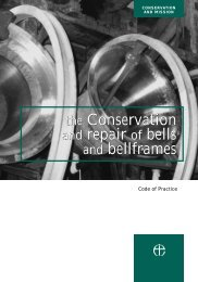 the Conservation and repair of bells and bellframes the ...
