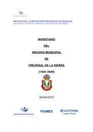 POAMEX - Diputación de Badajoz