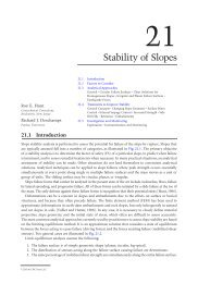 Chapter 21: Stability of Slopes - Free