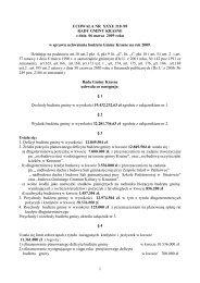 budĺ»et gminy krasne na rok 2009 uchwaĺ a nr xxxi/ 218 /09 rady ...