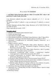 Protokół Nr XXII/2012 z dnia 2012-09-13 - Bestwina, Urząd Gminy