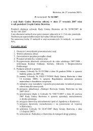 Protokół Nr XI/2007 z dnia 2007-09-27 - Bestwina, Urząd Gminy