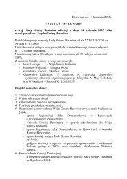 Protokół Nr XXIV/2005 z dnia 2005-04-14 - Bestwina, Urząd Gminy
