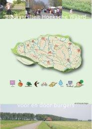 Biodiversiteit Hoeksche Waard - Transitiepraktijk