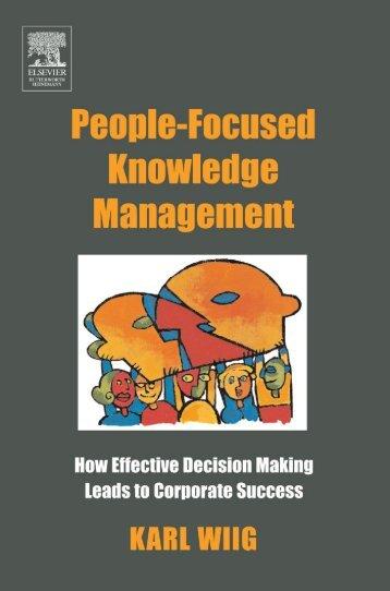 People-focused knowledge management - Index of - Free