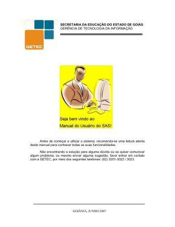 Manual do Usuário - Secretaria da Educação