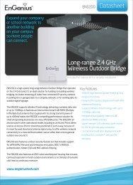 ENS200 Datasheet - EnGenius Technologies