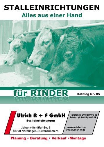 Stalleinrichtung für Rinder - Höhne GmbH