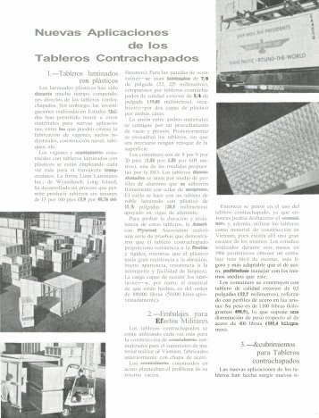 Nuevas aplicaciones de los tableros contrachapados - aitim