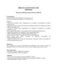 REG CEL Prog 2009v3 - Universidade de Coimbra